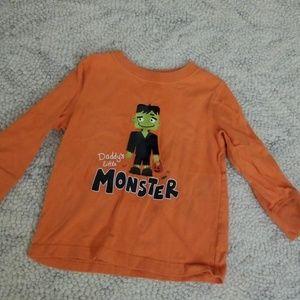 2t Monster Halloween Shirt